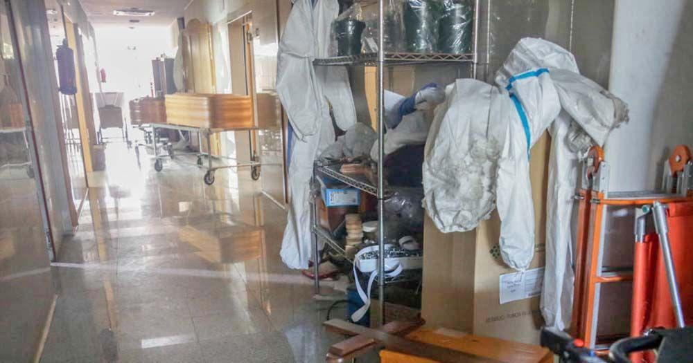 El Palacio de Hielo de Madrid actuará como morgue ante la saturacion de los crematorios