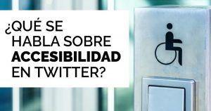 Fundación ONCE analiza la accesibilidad en las ciudades españolas a partir de más de 100.000 opiniones recogidas en Twitter