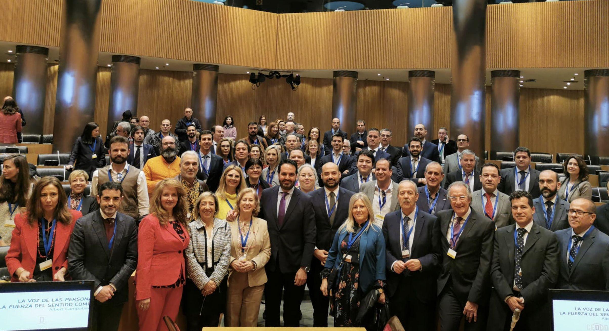 Representantes del CEDDD en el Congreso