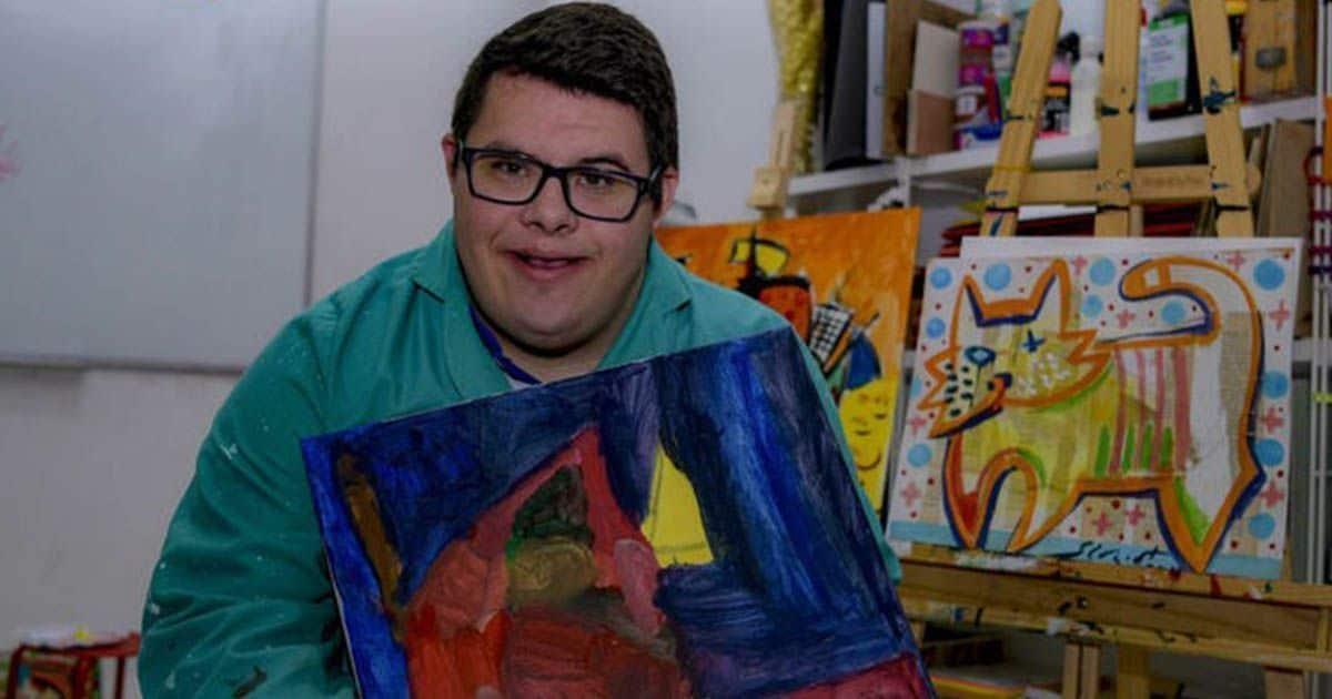 Alberto Amate enseña sus obras