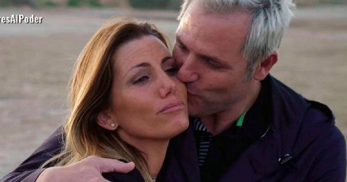 Santi Cañizares junto a su esposa, Mayte García. Foto: Telecinco