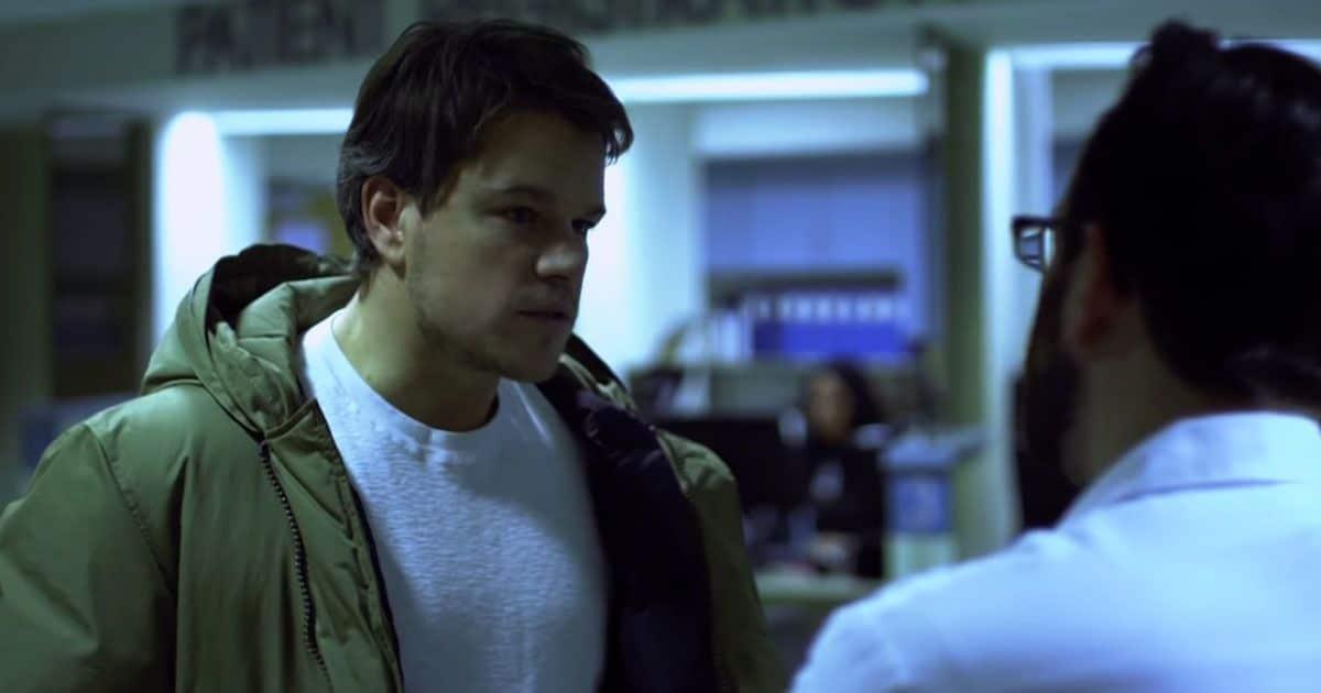 Matt Damon durante Contagio (2011)