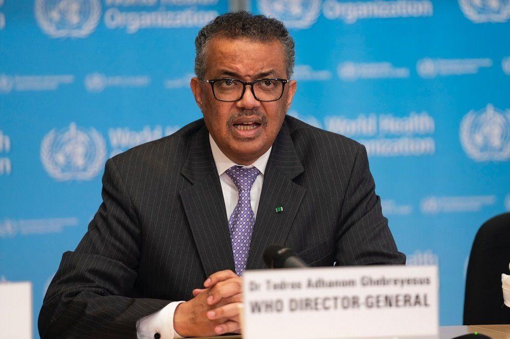 El director general de la Organización Mundial de la Salud