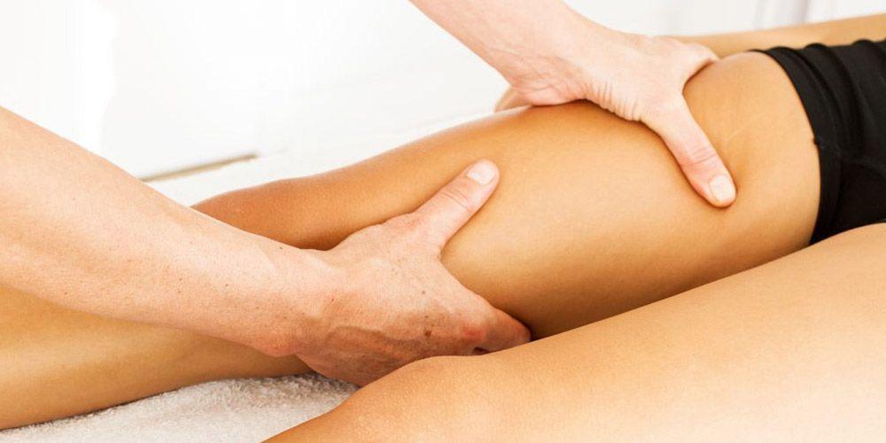 Los masajes previenen el linfedema