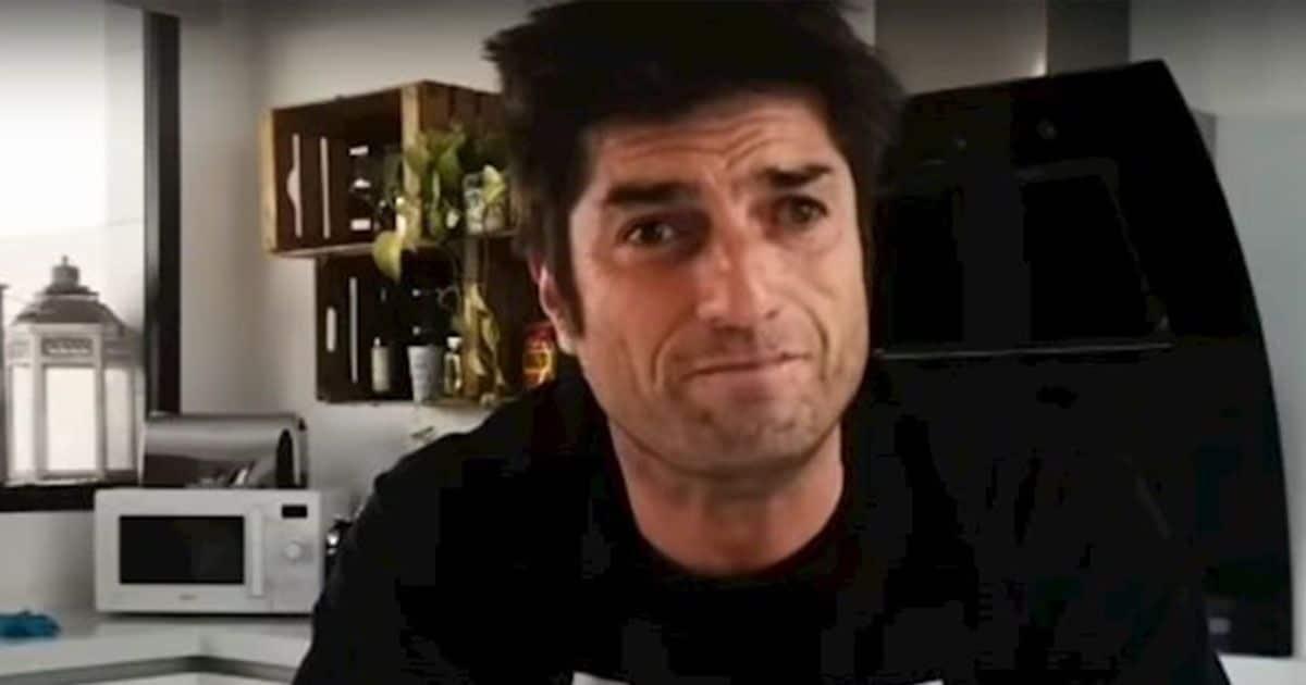 Óscar Haro durante su conexión en 'Espejo Público'