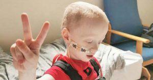 El pequeño de cuatro años con cáncer que ha vencido al coronavirus