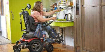 Silla de ruedas eléctrica Morgan Versus Cocina