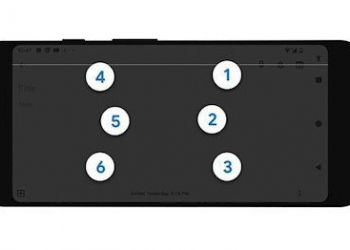 Teclado braille Android Talkback