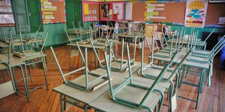 Clase o aula de un colegio