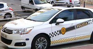 coche policia local ceuta