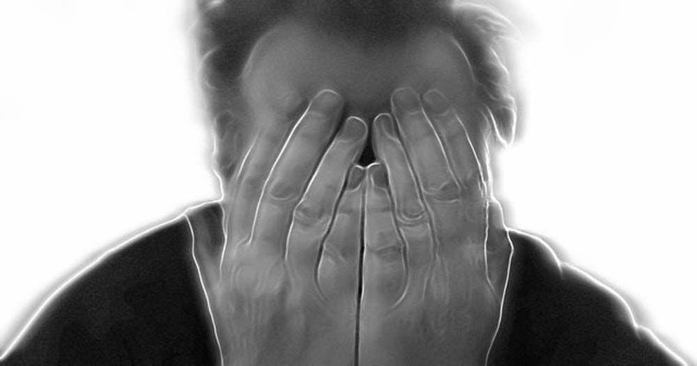 Persona con esquizofrenia