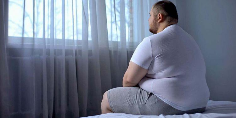 Persona obesa, con obesidad