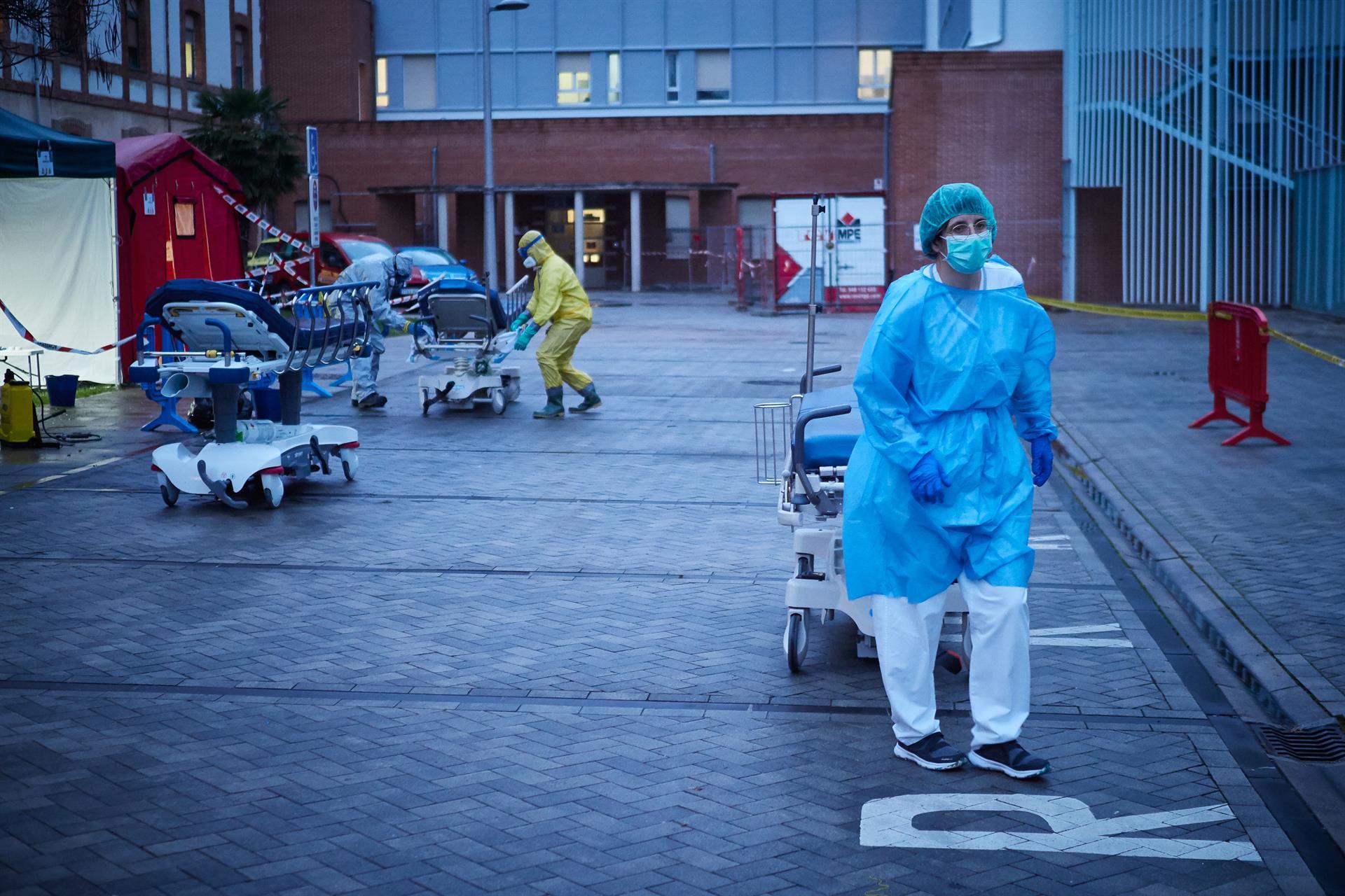 Sanitarios IFEMA coronavirus
