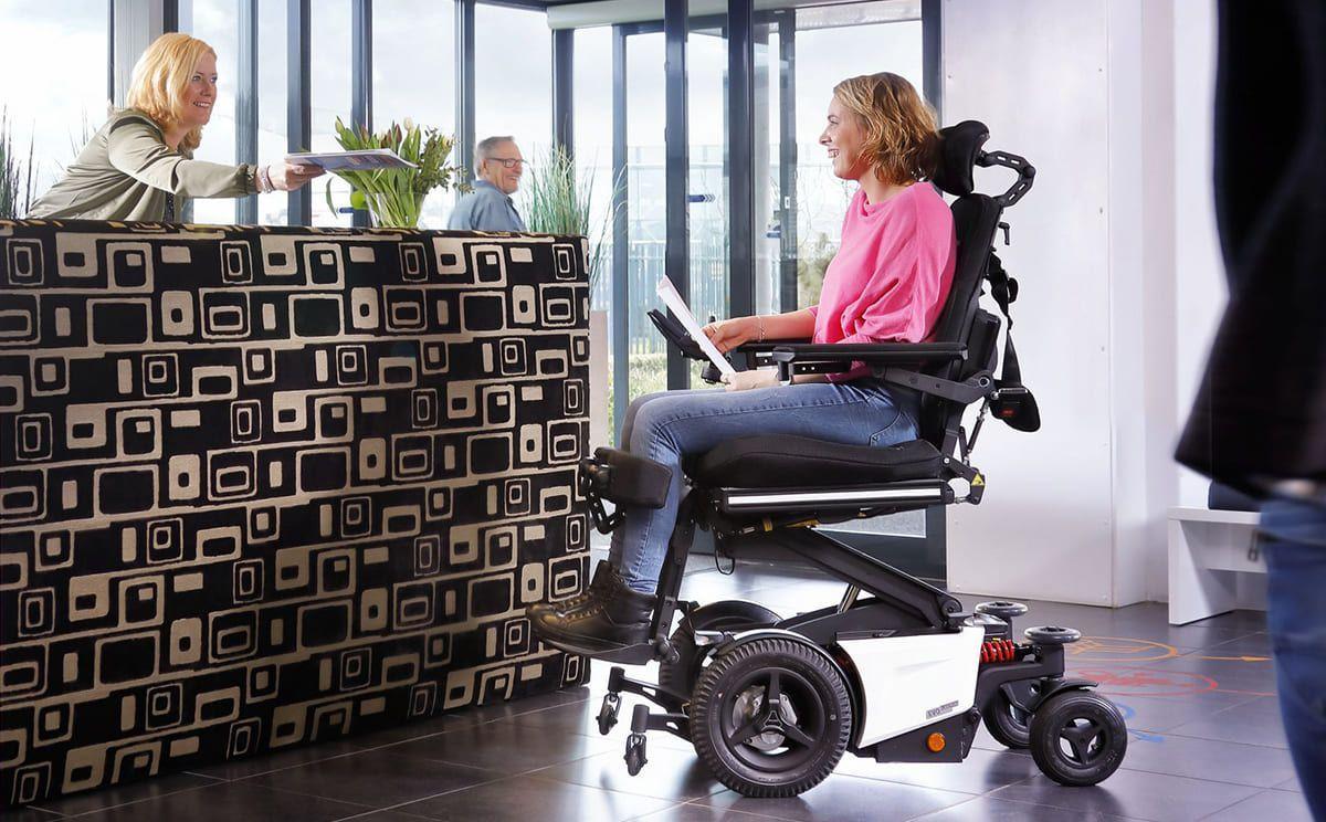 sillas de ruedas eléctricas bipedestadora EVO ALTUS