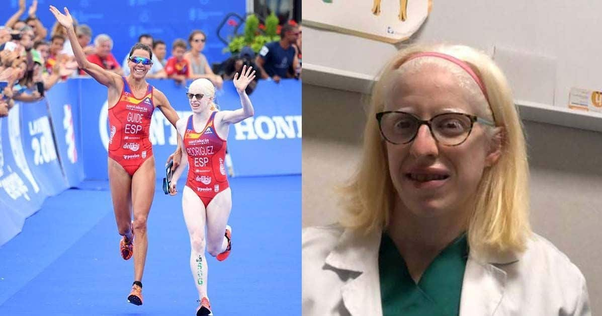 La triatleta Susana Rodríguez
