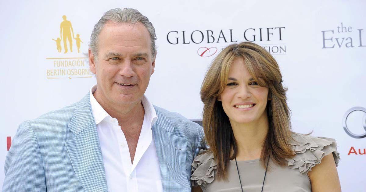 Bertin Osborne y Fabiola Martínez