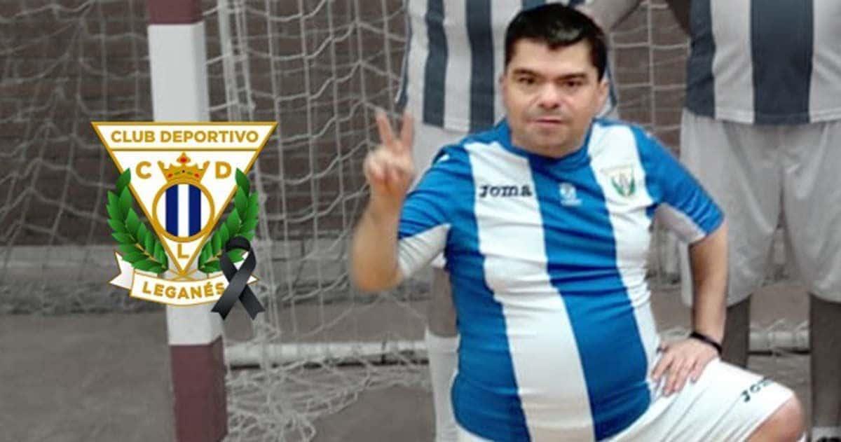 Sergio Gallardo, jugador del CD Leganes