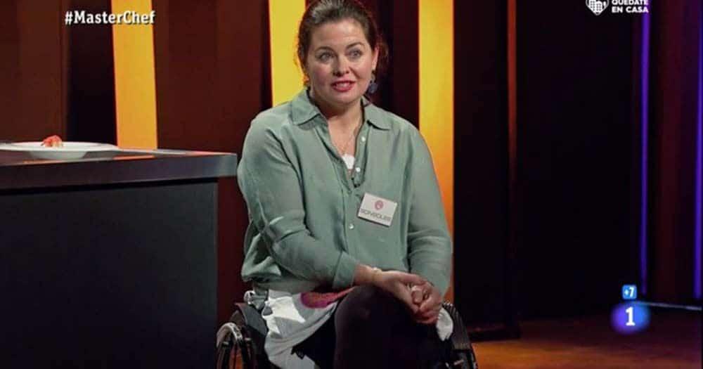 Sonsoles, primera concursante con discapacidad en Masterchef