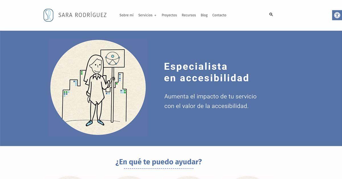 Sara Rodríguez lanza su nuevo proyecto: una consultoría online en accesibilidad universal y accesible