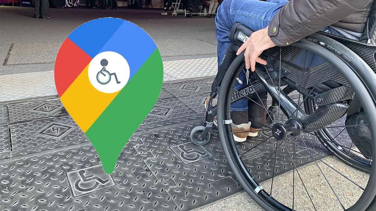 Google Maps cuenta con un icono que muestra si un lugar es accesible