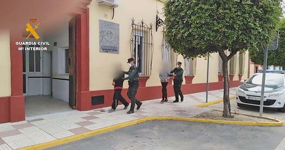 Una persona detenida por la Guardia Civil