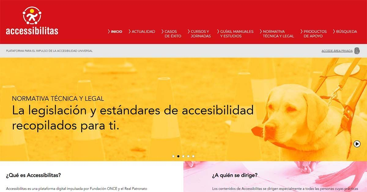 'Accessibilitas', un portal creado para impulsar el diseño universal