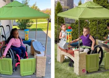 Amazon vende una casita de juguete inclusiva