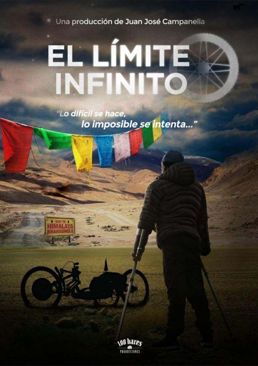 """""""El límite infinito"""", cartel del documental de Jean Maggi"""