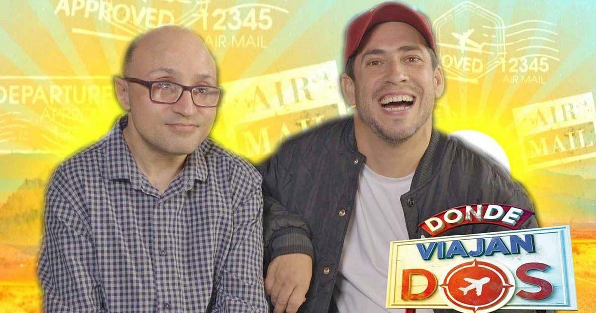 Jesus Vidal y El Langui, protagonistas del programa Donde viajan dos