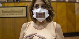 Susana Díaz Mascarilla transparente