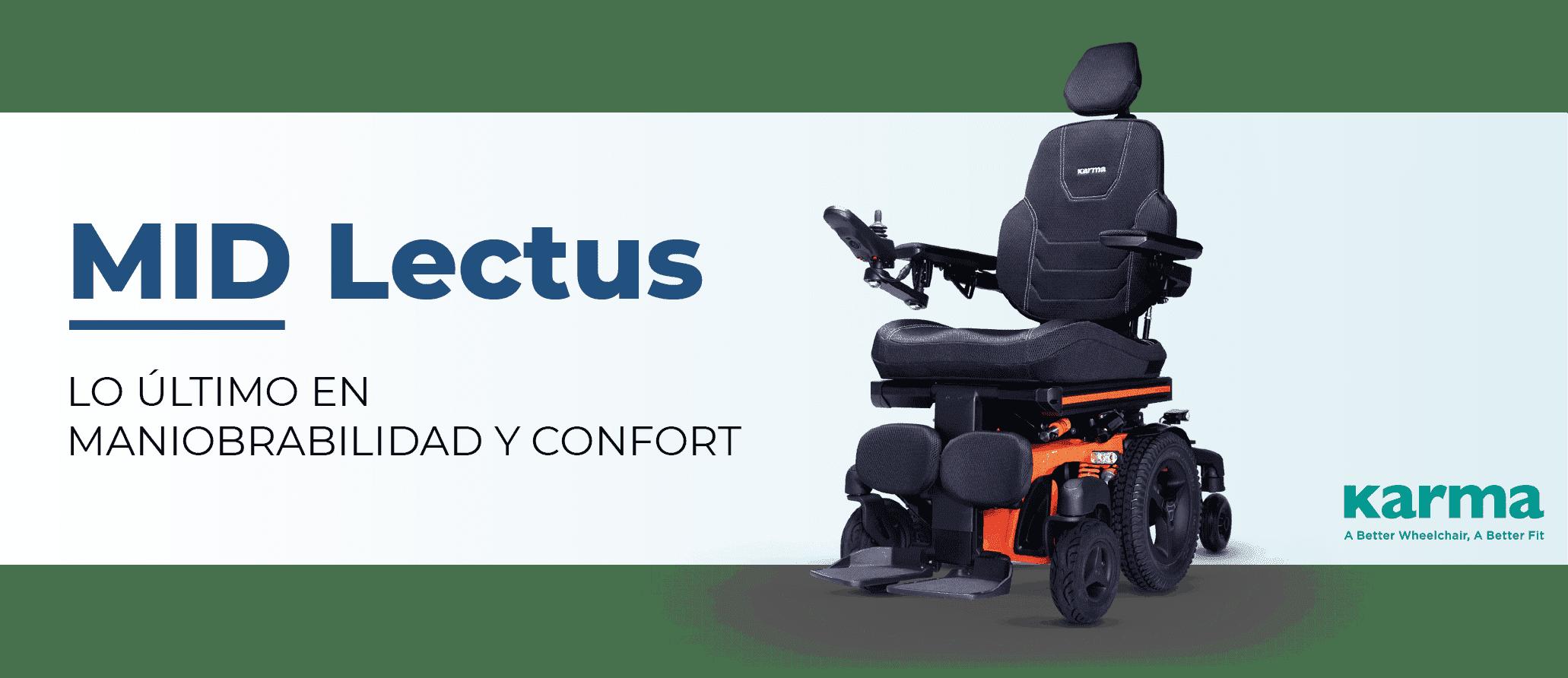 banner silla de ruedas MID LECTUS