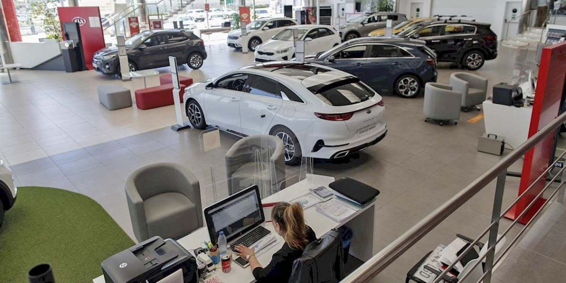 Concesionario de coche que se beneficiará del Plan Renove