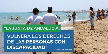 junta de andalucia vulnera derechos discapacidad