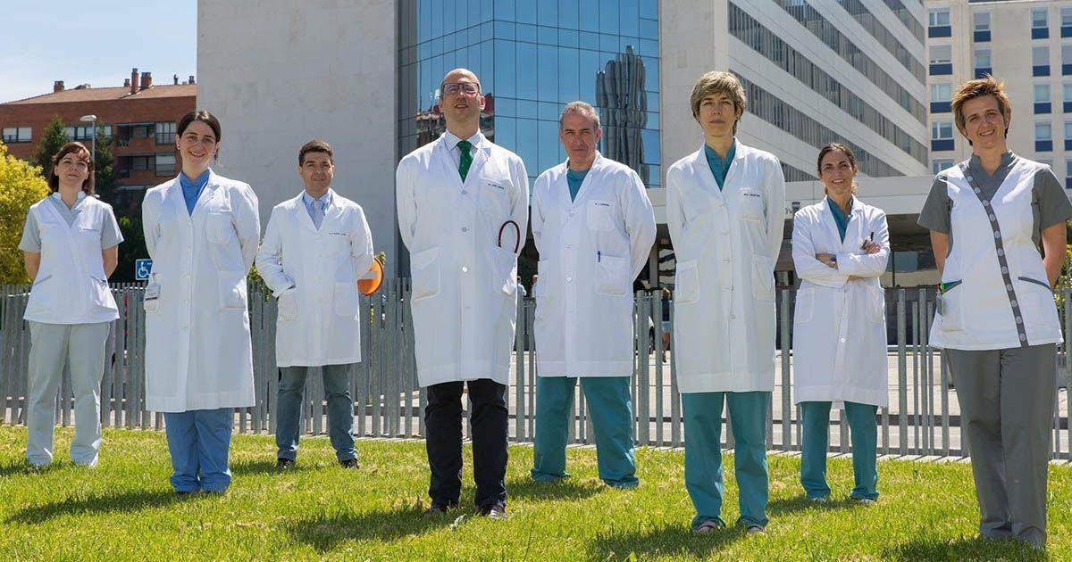 Médicos de la Universidad de Navarra que han participado en el estudio frente al cáncer de páncreas   Foto: EP