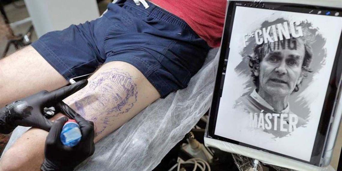 Tatuaje Fernando Simón