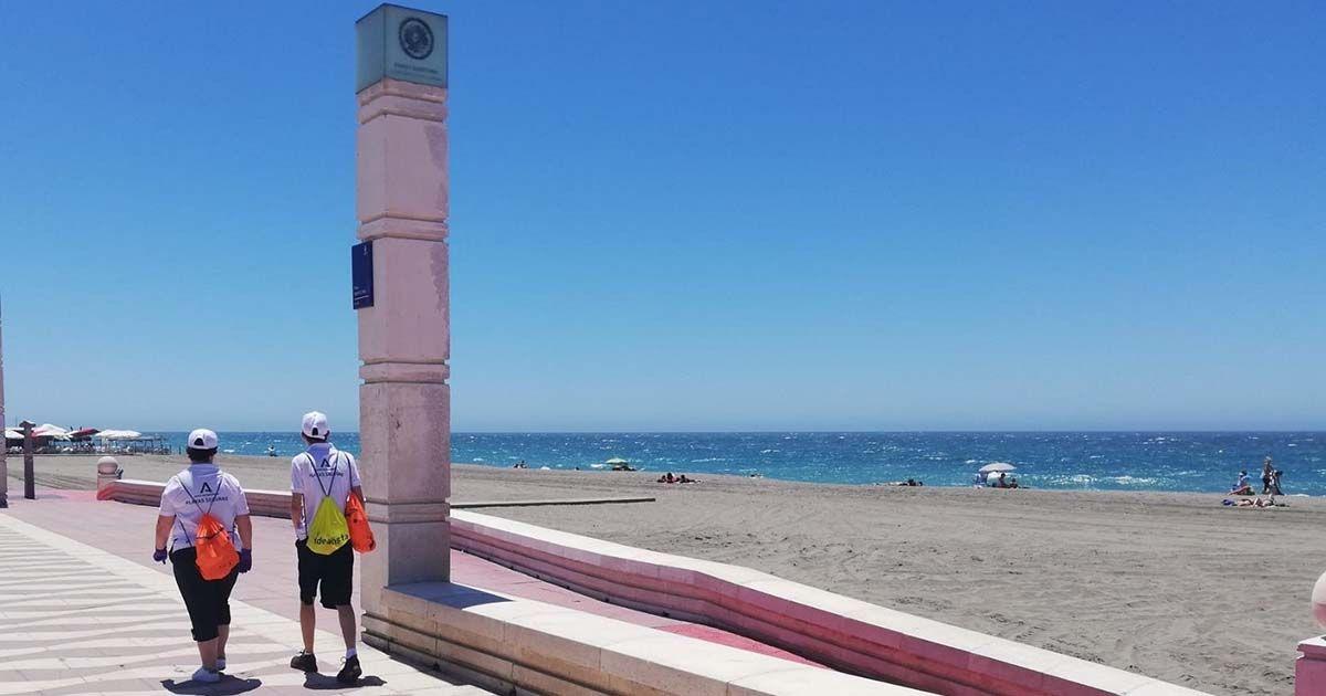 Vigilantes de la playa contratados por la Junta de Andalucía