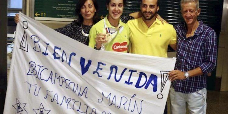 Gonzalo Marin padre Carolina Marin Badminton