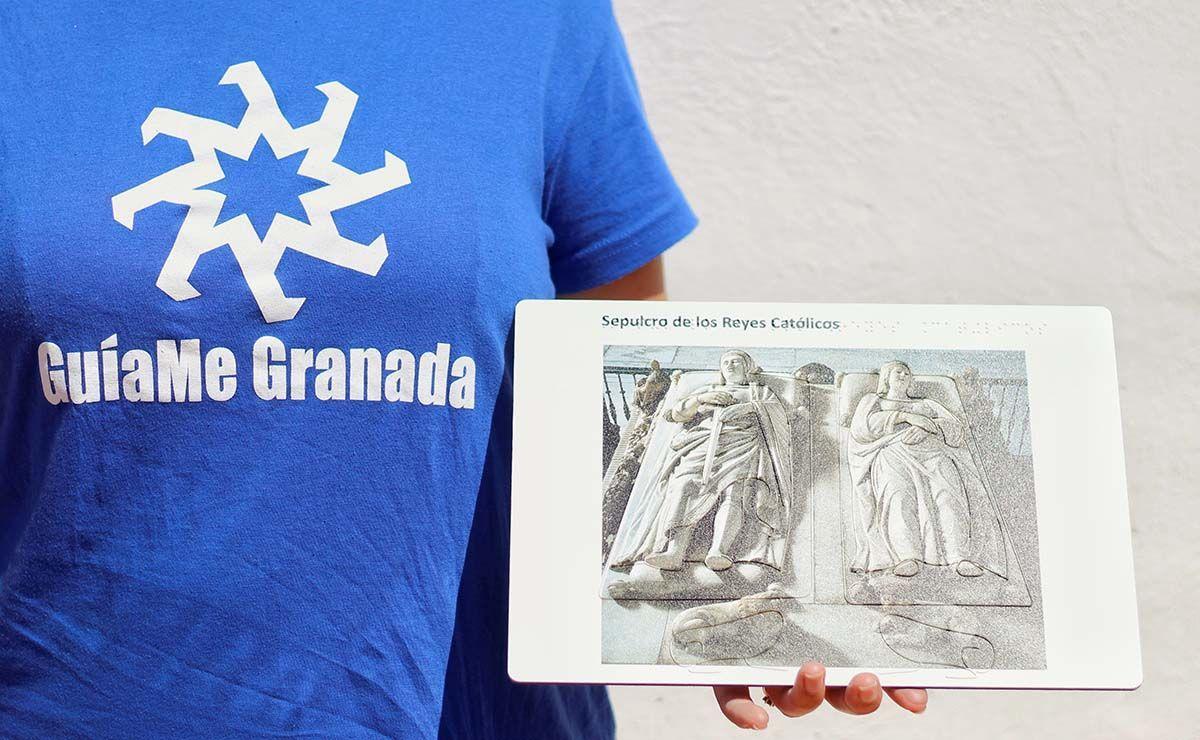 Guíame Granada, empresa dedicada al turismo accesible