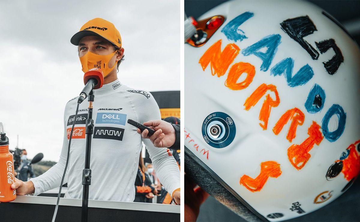 Lando Norris estrenará un emotivo casco en el Gran Premio de Gran Bretana