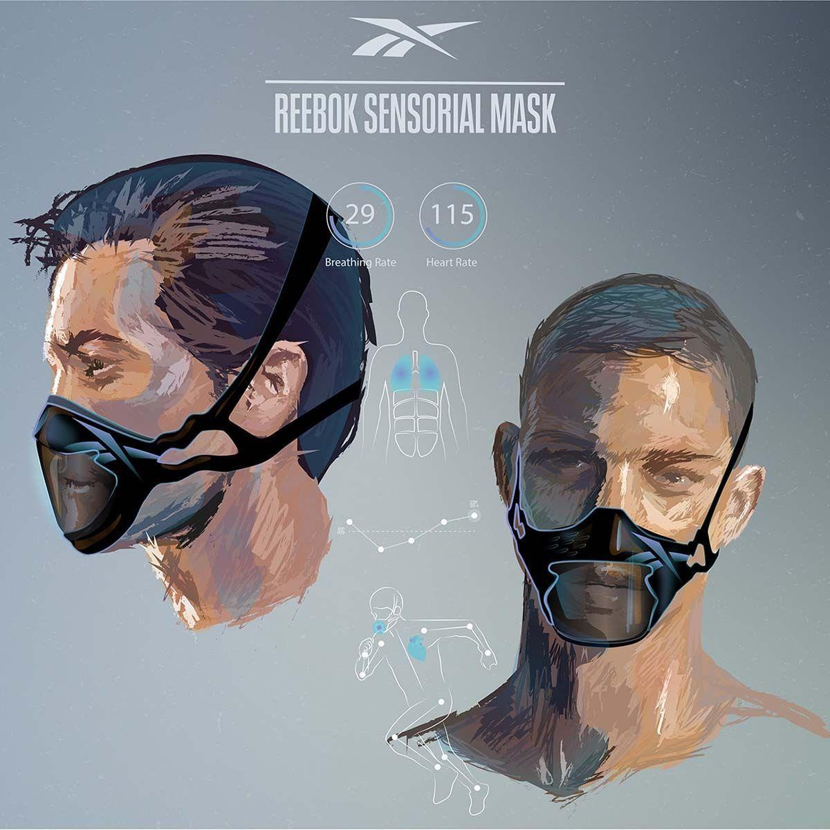 Mascarilla sensorial de Reebok