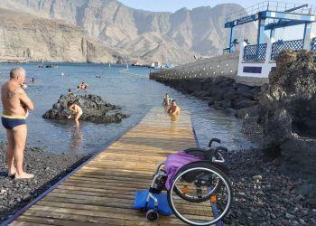 Playa accesible de las Nieves