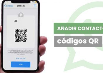 Whatsapp y código QR para añadir contactos