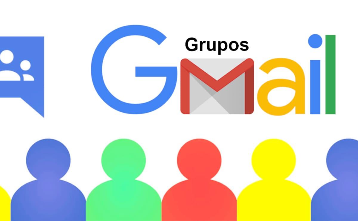 como crear grupo de contactos GMAIL