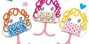 Mascarillas diseñada por Ágatha Ruiz de la Prada