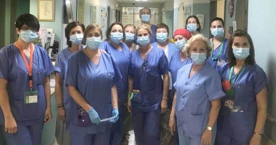 Personal del Hospital Virgen Macarena (Sevilla)