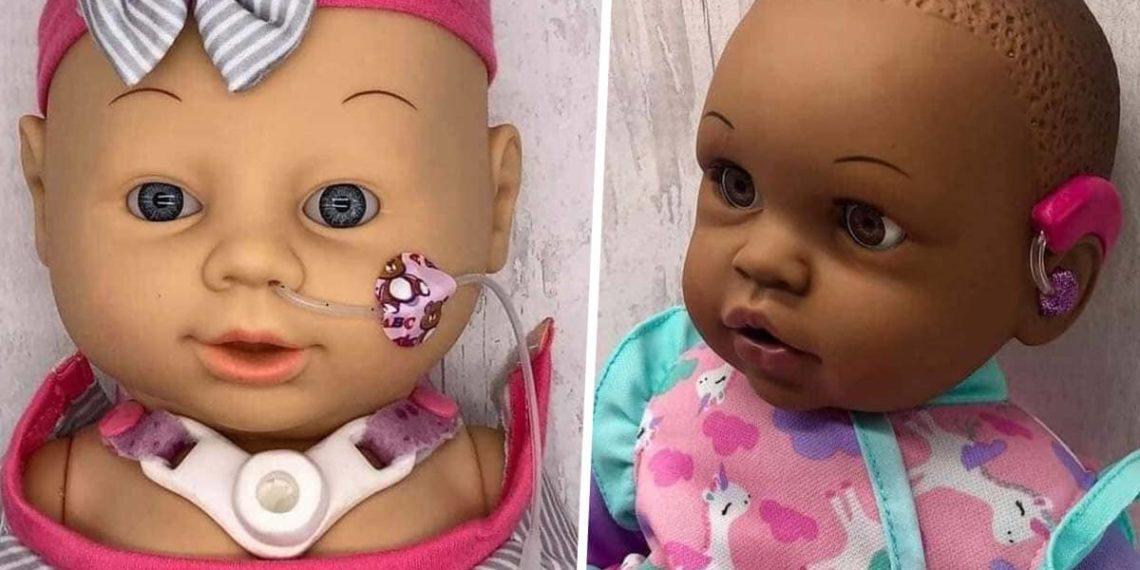 muñecos inclusivos de clare tawel