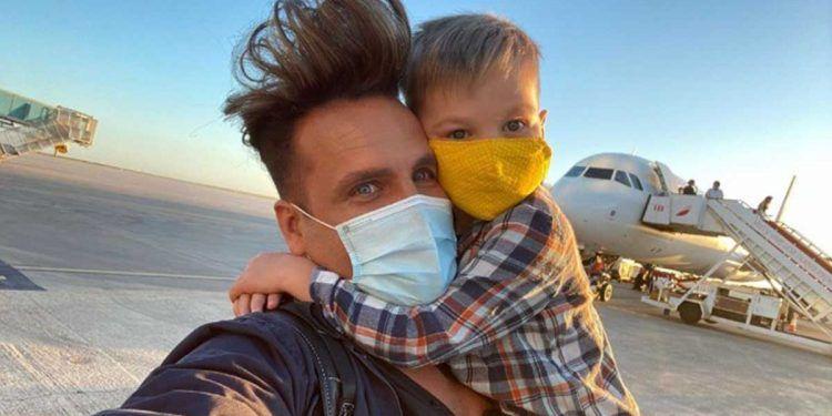 Quique Torito junto a su hijo | Foto: Instagram