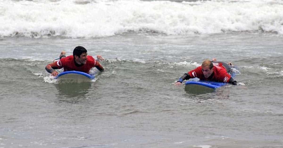 Sebastián Seta y Matías Sequeiras, campeones latinoamericanos de surf adaptado