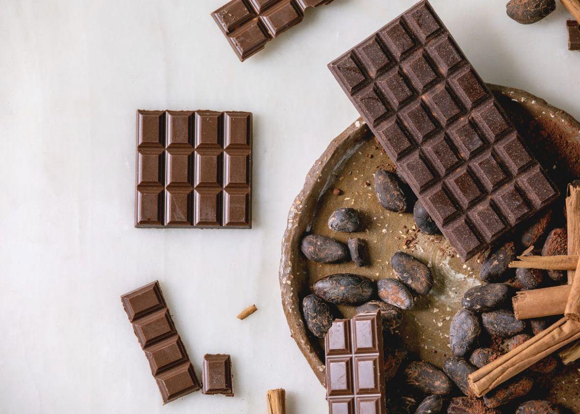 Beneficios y tipos de chocolates