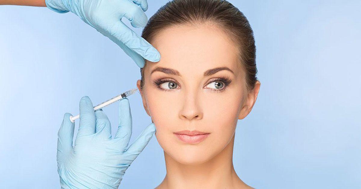 Inyección de 'Botox'